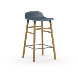 Form Barstool 65cm Oak by NORMANN COPENHAGEN