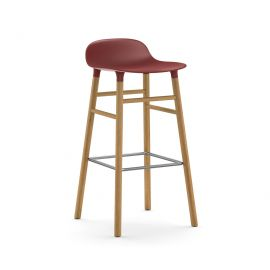 Form Barstool 75cm Oak by NORMANN COPENAGEN