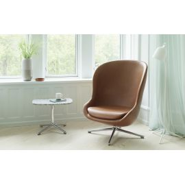 Hyg Lounge Chair High Swivel Alu