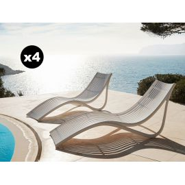 Ibiza Sun Lounger Laquered | Novo Design