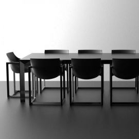 Set Dining Tables Form Rectangular and Form Chair