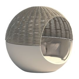 Moon Daybed with parasol