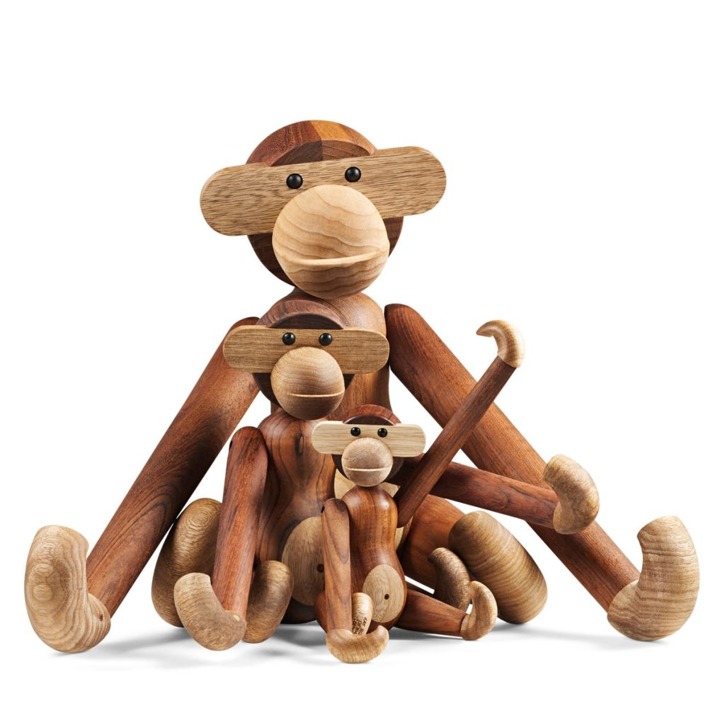 christmas gifts ideas; kay bojesen monkey